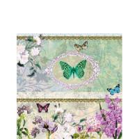 Papierowe Serwetki Butterfly Medaillon