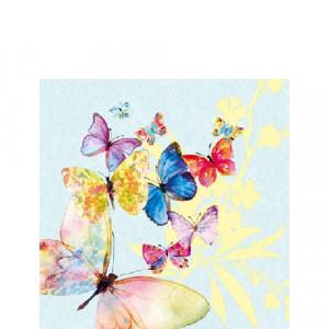 Papierowe Serwetki Flying Magic Blue