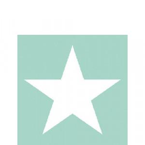 Papierowe Serwetki Star Aqua