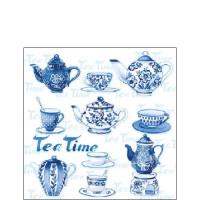 Papierowe Serwetki Tea Moments Blue