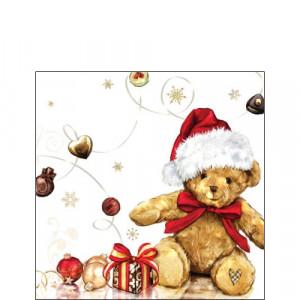 Papierowe Serwetki X-Mas Teddy