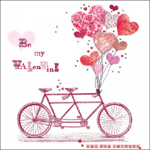 Papierowe Serwetki Be My Valentine