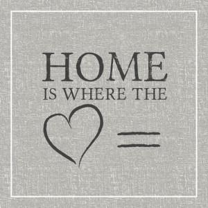 Papierowe Serwetki Home Grey