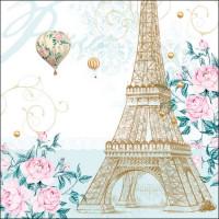 Papierowe Serwetki Toujours Paris