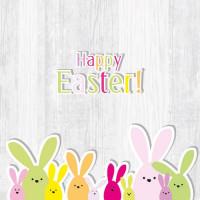 Papierowe Serwetki Funny Bunny