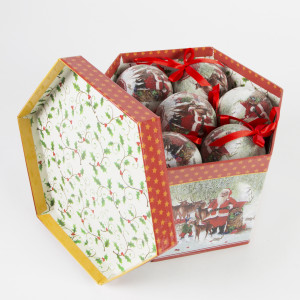 Komplet Bombek Father Christmas
