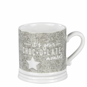 Kubek z Gwiazdką It's your chocolate moment Bastion Collections