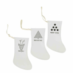 Zawieszki Papierowe Xmas Socks Bastion Collections