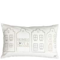 Poduszka HOME IS THE PLACE OF LOVE & DREAMS Bastion Collections