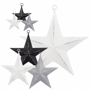 Gwiazda Metalowa White Mała Bastion Collections