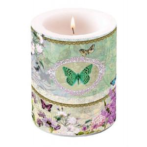 Duża Świeca Butterfly Medaillon