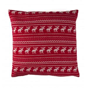 Poduszka Reindeer Red