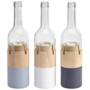 Świecznik Tealight Bottle