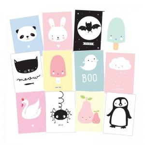 Pocztówka Cute Kids A Little Lovely Company