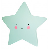 Lampka Mini Star Mint A Little Lovely Company