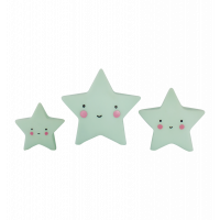 Klocki Mini Stars Mint A Little Lovely Company