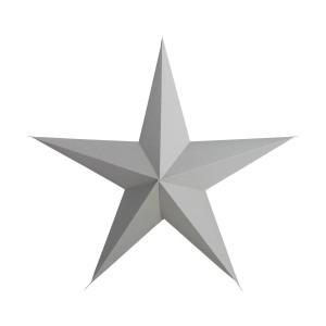 Gwiazda Papierowa Szara 45 Cm House Doctor