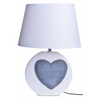 Lampka Ceramiczna z Sercem Duża