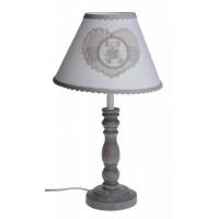 Lampka z Misiem Szara