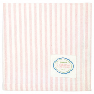 Serwetka Alice Stripe Pale Pink Green Gate
