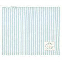 Obrus Alice Stripe Pale Blue Green Gate