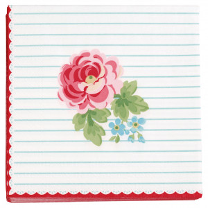 Papierowe Serwetki Lily White Mini Green Gate