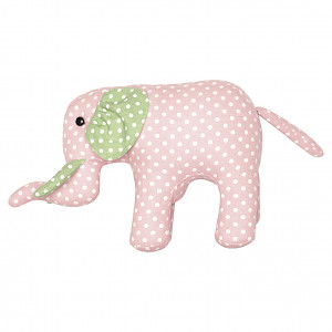 Miś Teddy Elephant Spot Pale Pink Medium Green Gate
