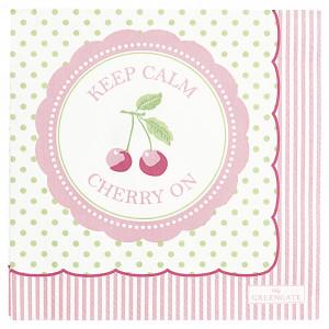 Papierowe Serwetki Cherry Berry Green Small Green Gate