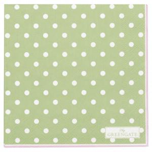 Papierowe Serwetki Spot Pale Green Small Green Gate