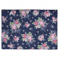Narzuta Rose Dark Blue 140 X 220 Cm Green Gate