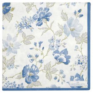 Papierowe Serwetki Donna Blue Green Gate