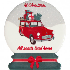 Magnesy Christmas Car Red 4 SZT Green Gate