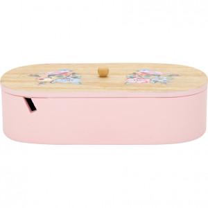 Pudełko Dekoracyjne Ellie Pale Pink Green Gate