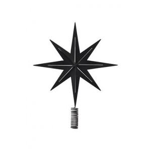 Metalowa Gwiazda Na Choinkę Black House Doctor