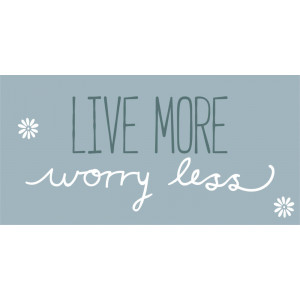 Magnes LIVE MORE WORRY LESS Ib Laursen
