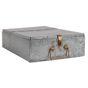Metalowy Pojemnik Skrzynia Cynk Ib Laursen