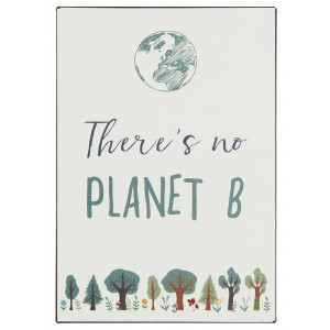 Metalowa Tabliczka There is no PLANET B Ib Laursen