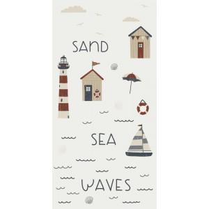 Papierowe Serwetki Sea Sand Waves Ib Laursen