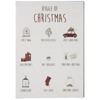 Metalowa Tabliczka Hygge Of Christmas Ib Laursen