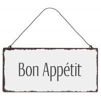 Metalowa Tabliczka Bon Appétit Ib Laursen