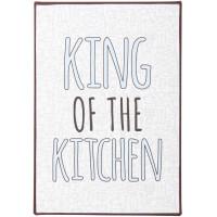 Metalowa Tabliczka King Of The Kitchen Ib Laursen