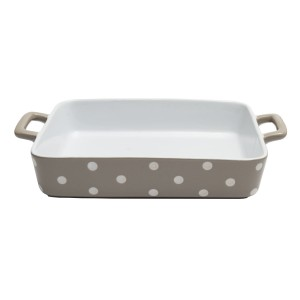 Forma Do Zapiekania Beige Dots Isabelle Rose