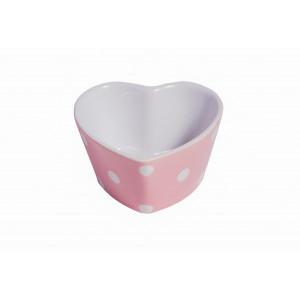 Foremka Do Zapiekania Heart Pink Dots Isabelle Rose