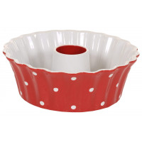 Forma Do Pieczenia Babki Red Dots Duża Isabelle Rose