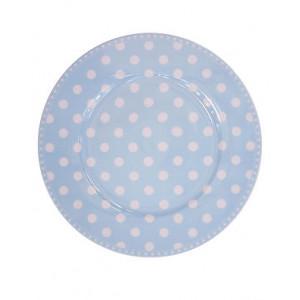 Talerz Deserowy Baby Blue Dot Krasilnikoff