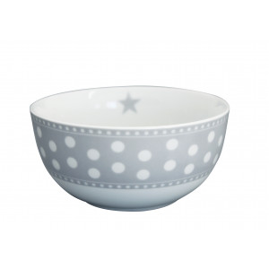 Miseczka Light Grey Dot Krasilnikoff