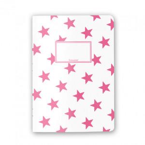 Zeszyt Stars Pink