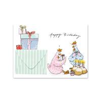 Pocztówka Happy Birthday With Envelope