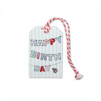 Etykieta Prezentowa Happy Birthday