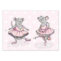 Pocztówka Ballet Rat